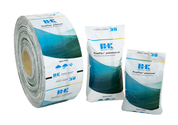 B+K PowFlex® ffs Powder Packaging