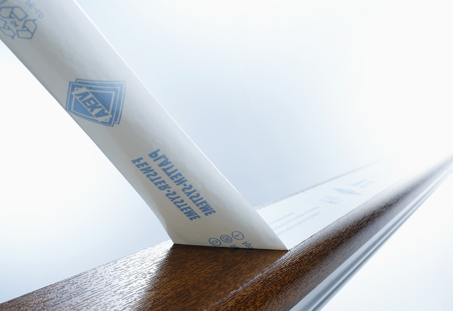 B+K TacFlex® surface protection films for window profiles